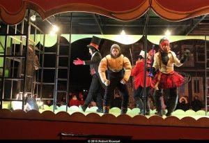 Le cirque, un des thèmes de la parade