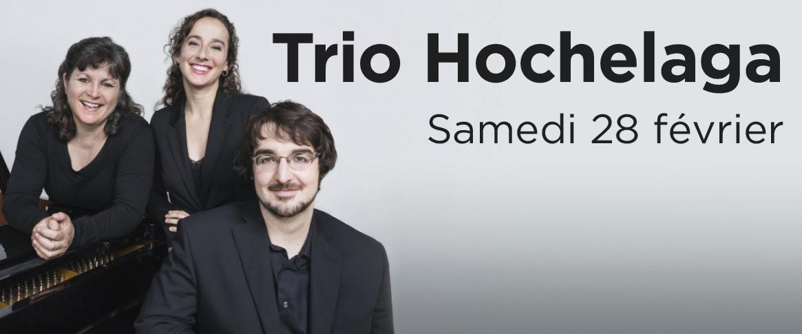Trio Hochelaga en concert à L'Anglicane le 28 février