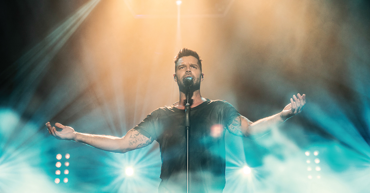 Ricky Martin le 14 octobre au Centre Bell