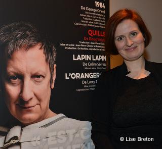 Anne-Marie Olivier Codirectrice générale et directrice artistique du Trident © photo: Lise Breton