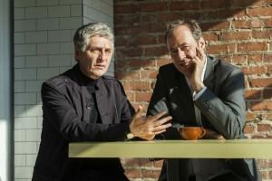 Larry Tremblay et Claude Poissant © Jean-François Brière