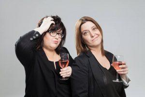 Les (Z)imparfaites Nancy Coulombe et Nadine Descheneaux