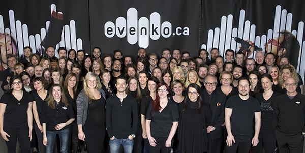L'équipe d'evenko © photo: courtoisie