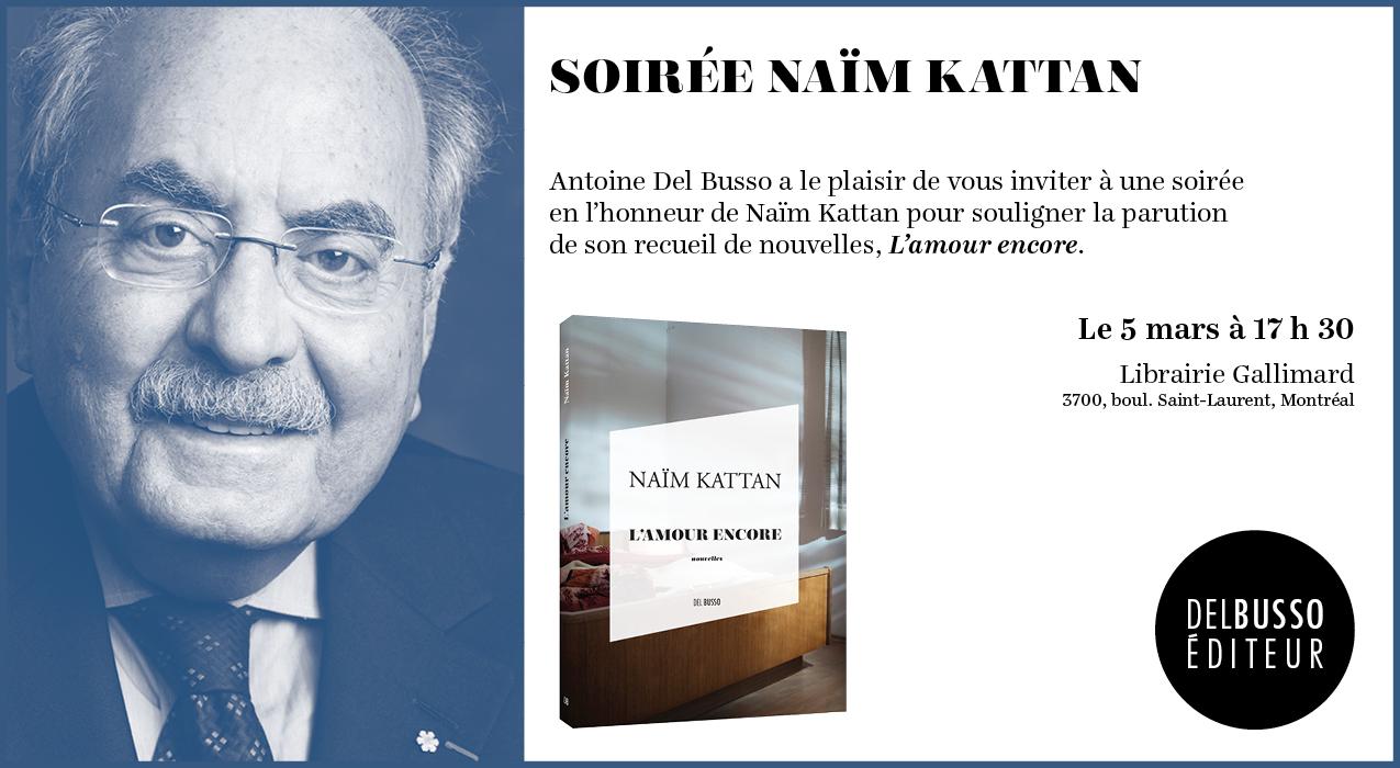 Le livre de Naim Kattan