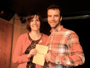 Yannick Lepage et Patricia Prévost