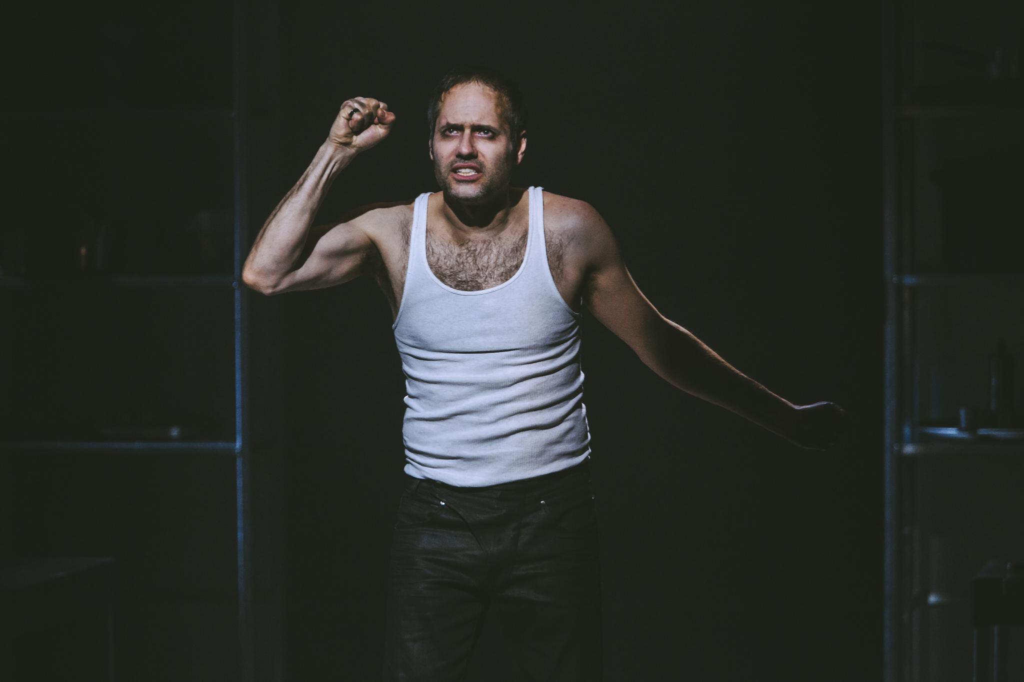 Jean-Sébastien Ouelette interprète Macbeth