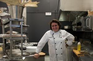 Marie-Chantal Lepage et sa cuisine