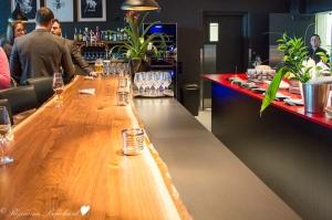 Le comptoir-bar du MNBAQ Restaurant