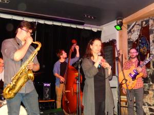 Dominique Lalande présente le groupe jazz St-Roch Quartet