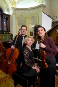 Nataliya Labiau, Dominic Painchaud et Noëlla Bouchard © photo: courtoisie
