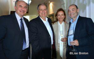Paul Shoiry, Bernard Pâquet, Annie Talbot, Jean Brouillard