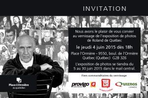 Exposition de photos Roland de Québec