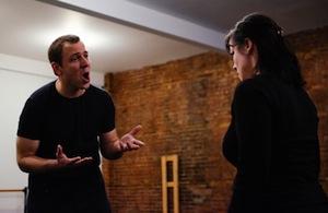 Simon Fortier (Dan) et Tara Bissett (Diana)