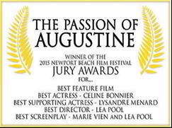 Prix pour La Passion d'Augustine
