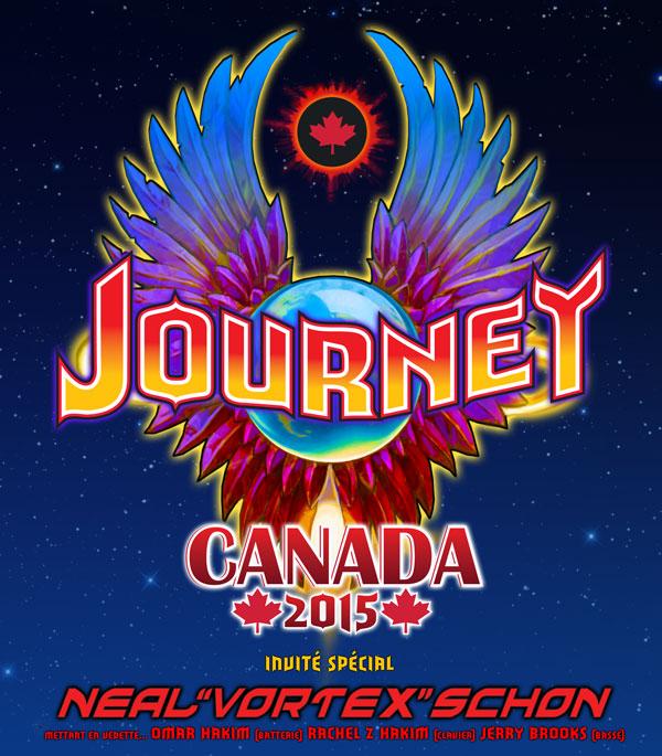 Journey et invité spécial Neal ''Vortex'' Schon