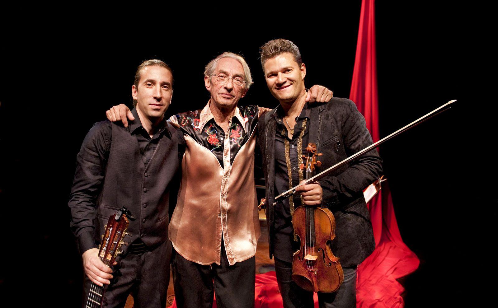 Lorca Richard Desjardins, Alexandre Da Costa et Alexandre Éthier © photo:  Pierre Crépô