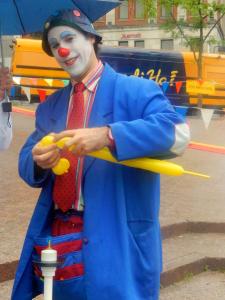 Les clowns à l'honneur