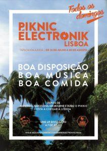 Une nouvelle destination pour le Piknic Électronik : Lisbonne