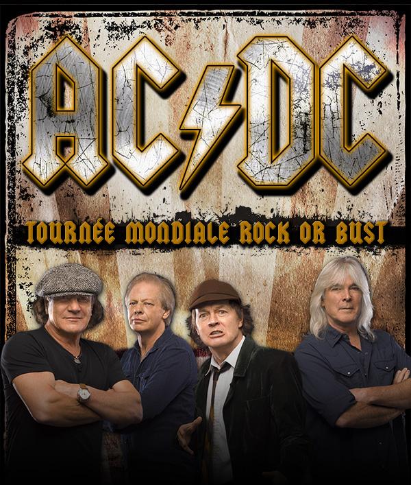 AC/DC + Vintage Trouble le 31 août au Stade olympique