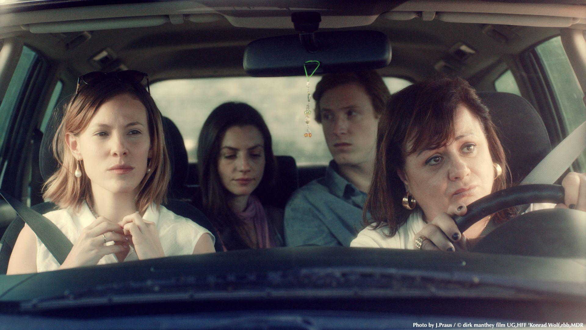 Dans la voiture familiale, © Photo de courtoisie