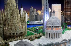 Le Monde en Mega Bloks® au Musée Grévin