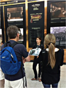 Visites guidées sur l'histoire du jazz à Montréal dans le cadre de la 36e édition du Festival International de Jazz de Montréal © photo: courtoisie