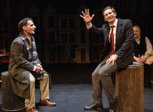 Sam Rosenthal (Cohen), Ken James Stewart (Duddy) et George Masswohl (Max)