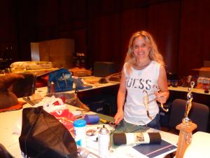 Stéphanie Dufour, accessoiriste depuis 5 ans