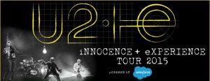 U2 iNNOCENCE + eXPERIENCE TOURNÉE 2015