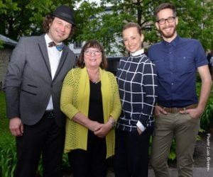 Olivier Bilodeau, Monique Simard, Karine Vanasse & Ian Gailer