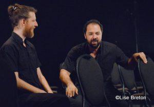 Deux: Emmanuel Schwartz et Mani Soleymanlou