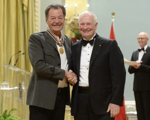 Walter Boudreau -Crédit photo: MCpl Vincent Carbonneau, Rideau Hall