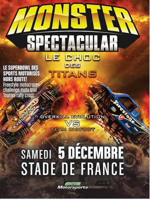 Monster Spectacular au Stade de France!