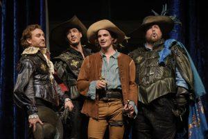 Les Mousquetaires au TNM © photo: courtoisie