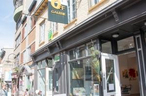 OFF Galeie, rue Saint-Jean à Québec