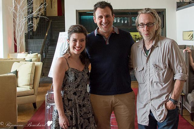 Marie-Ève, Patrick et François