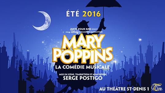 Mary Poppins, la comédie musicale en 2016