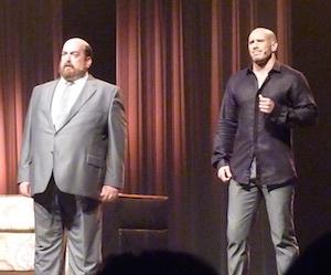 Martin Larocque (Grey) et Daniel Delisle (Elliot)