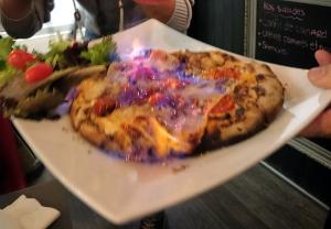 La flambée chez Pizz'art