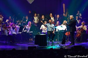 Chris de Burgh et l'orchestre symphonique