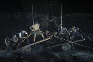 Normand D'Amour, David Savard, la troupe de Moby Dick © Yves Renaud