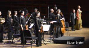 L'orchestre et la soprano