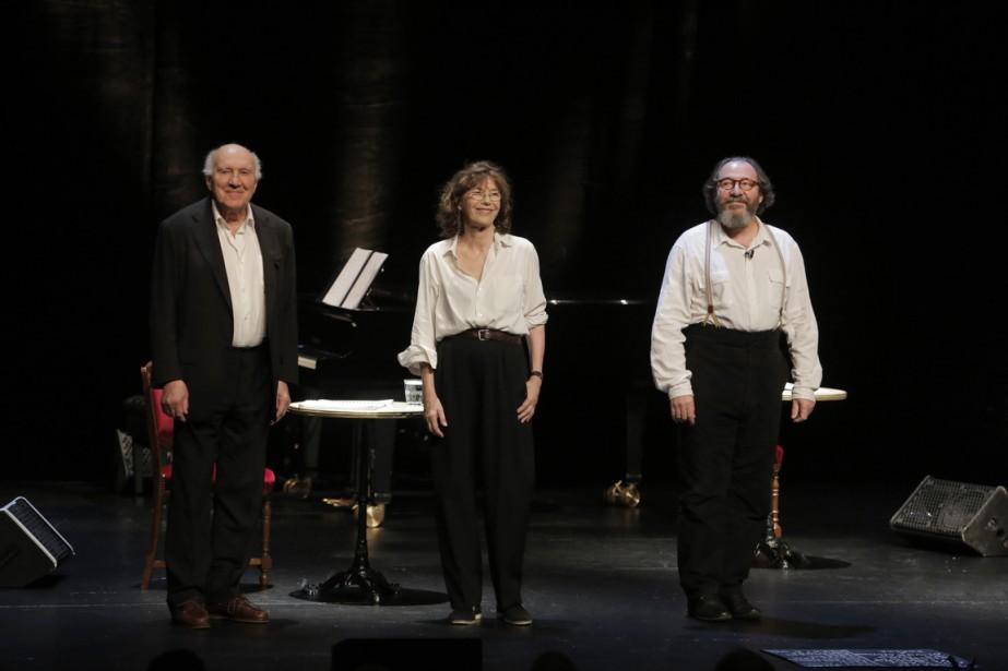 Serge Piccoli, Jane Birkin et Hervé Pierre © Pascal Victor/ARTCOMART