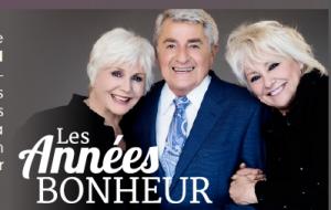 Les Années de Bonheur avec René Martel,Michel Louvain, Chantal Pary