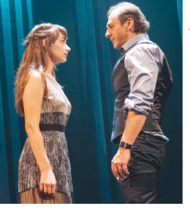 Sophie Cadieux et Luc Picard © photo: Jérémie Battaglia