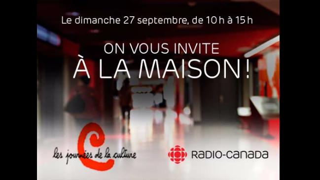 Les Journées de la culture à Radio-Canada