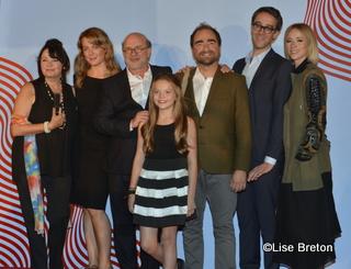 Louise Portal, Julie Le Breton, François Bouvier, Shanti Corbeil-Gauvreau, Michel Rabagliati, François Létourneau, Kariine Vanasse