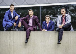 Album Tocadéo Live: Benoit Miron, Patrick Olafson, Dany Laiberté,René Lajoie © photo: courtoisie