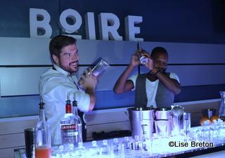 """Patrice Plante et Py préparent des """"drinks"""""""