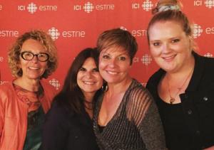 Danielle Trottier, Guylaine Tremblay, Marie-Chantal Perron et Debbie Lynch-White a © photo: courtoisie de Radio-Canada